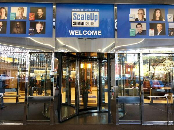 ScaleUp Summit 2018 welcome